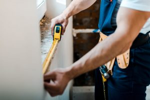 To properly measure and install a replacement window will require carpenter skills and specialized tools.
